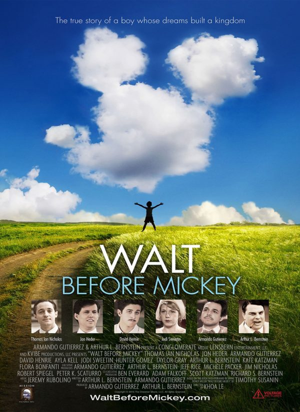 WALT ANTES DO MICKEY